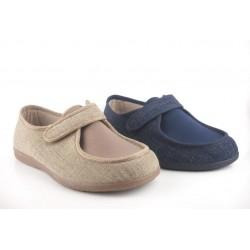 Zapatillas para calle o casa GARZON empeine elastico