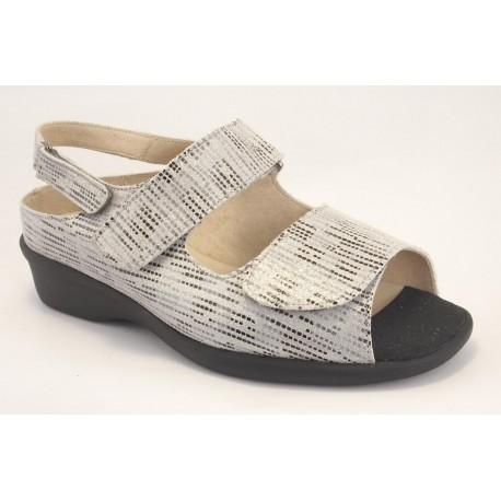 Trimas sandalia velcro ajustable para plantillas