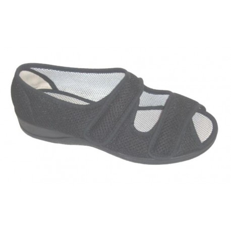 Doctor Cutillas  zapatillas pies delicados, con 2 velcros enpeine