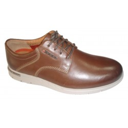 Clarks Unbyner Lane, color Dark Brown leather