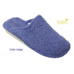 Garzon zapatillas para casa de rizo toalla