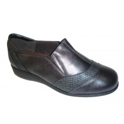 Zapato Doctor Cutillas color plomo