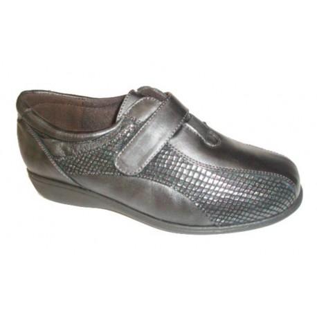 Doctor Cutillas zapatosvelcro, color plomo