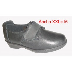 Pinosos  zapato velcro mujer apies delicados  horma XXL16